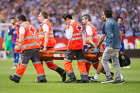 FC Barcelona's defender Javier Mascherano injured during Copa del Rey (King's Cup) Final between Deportivo Alaves and FC Barcelona at Vicente Calderon Stadium in Madrid, May 27, 2017. Spain.<br /> (ALTERPHOTOS/BorjaB.Hojas) /NortePhoto.com