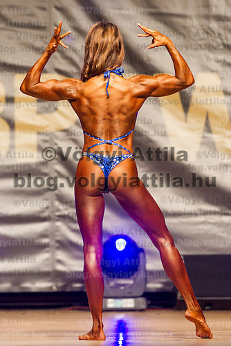 First WBPF body building and body fitness world cup in Budaors, Hungary on June 9, 2012. ATTILA VOLGYI