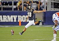 Florida International University football player kicker Jack Griffin (38)  plays against the Duke University on October 01, 2011 at Miami, Florida. Duke won the game 31-27. .