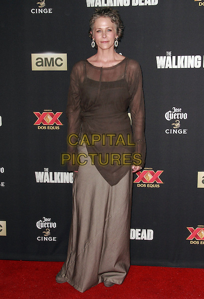2 October 2014 - Universal City, California - Melissa McBride attends AMC celebrates the season five premiere of its hit series, &ldquo;The Walking Dead,&rdquo;  at the  AMC Universal Citywalk Stadium 19/IMAX.  <br /> CAP/ADM/TBO<br /> &copy;Theresa Bouche/AdMedia/Capital Pictures