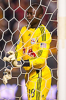 Bouna Coundoul (18) New York Red Bulls goal keeper. The LA Galaxy and Red Bulls of New York played to a 1-1 tie at Home Depot Center stadium in Carson, California on  May 7, 2011....