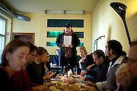 Bruno Kramm (Piraten) aufgenommen am Freitag (13.12.13) in Berlin bei einer Pressekonferenz.<br /> Foto: Axel Schmidt/CommonLens