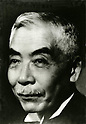 Shigeaki Ikeda (15 August 1867 - 9 October 1950), also known as Seihin Ikeda, was a Japanese politician and businessman prominent in the early decades of the 20th century. He served as director of Mitsui Bank from 1909-1933, was appointed governor of the Bank of Japan in 1937, and served as Minister of Finance under Prime Minister Fumimaro Konoe from 1937 to 1939. In 1941, he was made a member of the Imperial Privy Council. Following Japan's defeat in World War II, Ikeda was banned from public political service. (Photo by Kingendai/AFLO)