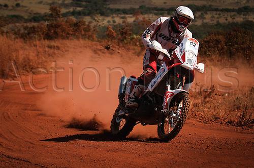 13 08 2010  driver of Moto Cuba  Durante A  2010 Rally dos Sertes Brazil