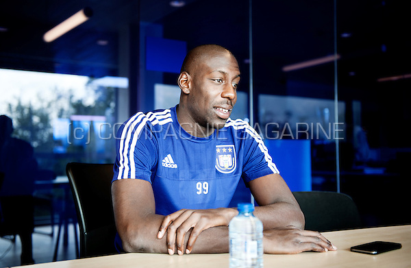 Italian football player Stefano Okaka (Belgium, 03/09/2015)