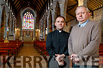Fr Sean Jones and Fr Tadhg Fitzgerald, Saint Johns Church, Castle Street, Tralee.