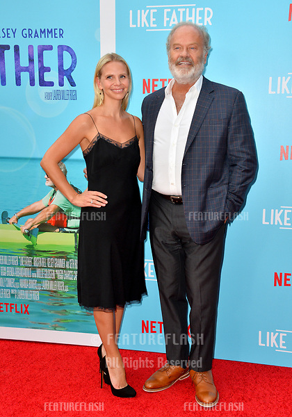 "Kelsey Grammer & Kayte Walsh at the Los Angeles premiere of ""Like Father"" at the Arclight Theatre, Los Angeles, USA 31 July 2018<br /> Picture: Paul Smith/Featureflash/SilverHub 0208 004 5359 sales@silverhubmedia.com"