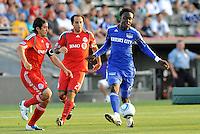 Kei Kamara...Kansas City Wizards defeated Toronto FC 1-0 at Community America Ballpark, Kansas City, Kansas.