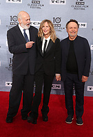 """Los Angeles CA Apr 11: Billy Crystal, Rob Reiner, Meg Ryan, arrive to 2019 TCM Classic Film Festival Opening Night Gala And 30th Anniversary Screening Of """"When Harry Met Sally"""", TCL Chinese Theatre, Los Angeles, USA on April 11, 2019 <br /> CAP/MPI/FS<br /> ©FS/MPI/Capital Pictures"""