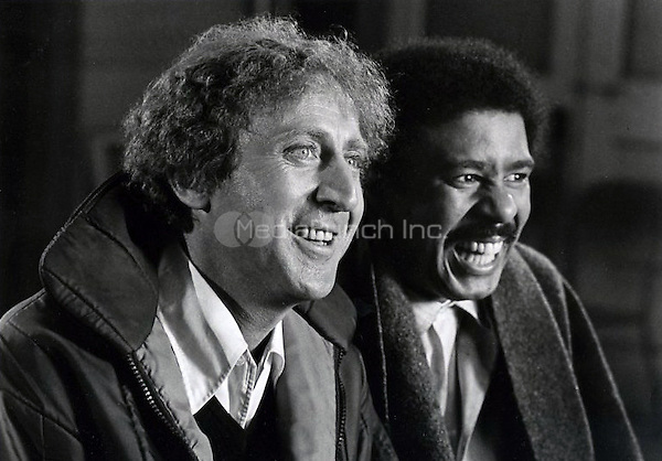 Silver Streak (1976) <br /> Richard Pryor as Grover Muldoon<br /> Gene Wilder as George Caldwell<br /> *Filmstill - Editorial Use Only*<br /> CAP/PLF<br /> Supplied by Capital Pictures / MediaPunch