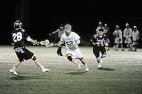 Stevenson men's lacrosse hosted Alvernia for the home opener Wednesday night at Mustang Stadium in Owings Mills where the Mustangs trampled the Crusaders 29-1.