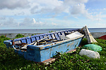 Orchid Island (蘭嶼), Taiwan -- Discarded Boat