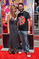 Wil Wheaton &amp; Anne Wheaton at the premiere for &quot;Teen Titans Go! to the Movies&quot; at the TCL Chinese Theatre, Los Angeles, USA 22 July 2018<br /> Picture: Paul Smith/Featureflash/SilverHub 0208 004 5359 sales@silverhubmedia.com