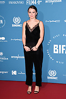 LONDON, UK. December 02, 2018: Liv Hill at the British Independent Film Awards 2018 at Old Billingsgate, London.<br /> Picture: Steve Vas/Featureflash