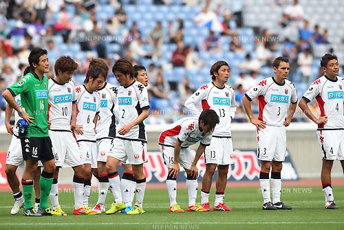 Consadole Sapporo team group, .MAY 6, 2012 - Football /Soccer : .2012 J.LEAGUE Division 1 .between Yokohama F Marinos 2-1 Consadole Sapporo .at Nissan Stadium, Kanagawa, Japan. .(Photo by YUTAKA/AFLO SPORT) [1040]