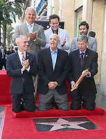 08 August 2017 - Hollywood, California - Jeff Zarrinnam, Mitch O'Farrell, Mitchell Hurwitz, Joe Lewis, Jeffrey Tambor, Leron Gubler. Jeffrey Tambor Honored With A Star On The Hollywood Walk Of Fame. Photo Credit: F. Sadou/AdMedia