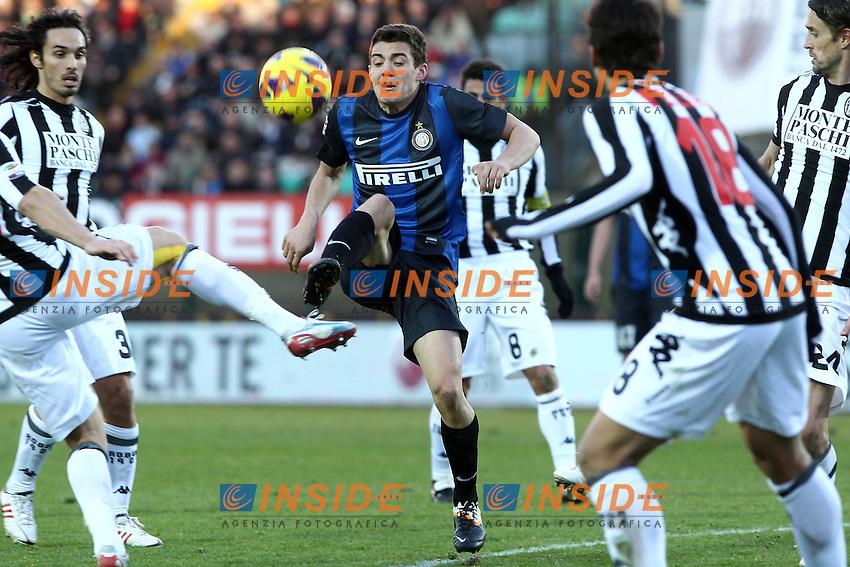 "Mateo Kovacic Inter.Siena 03/02/2013 Stadio ""Franchi"".Football Calcio Serie A 2012/13.Siena v Inter.Foto Insidefoto Paolo Nucci."