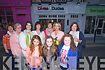 OPENING; At the opening of Divas & Dudes,ladies and Childrens Boutique,Castle Street,Tralee on Thursday evening,Front l-r: Ciara O'Sullivan, Marnie Horan, Leah Canty. Back were, Breda Counihan, Geraldine O'Shea, Denise Burke, Mary Teresa Kelliher,Elizabeth Hickey,Lisa Geaney (propretior) and Margaret Brick.