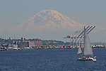 SEATTLE, WASHINGTON, USA , Mt. Rainier