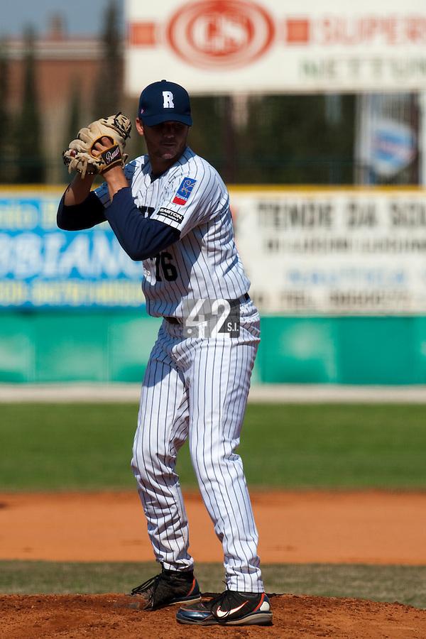 Baseball - European Cup 2009 - Anzio (Italy) - 04/04/2009 - Danesi Caffe' Nettuno v Rouen Baseball '76 - Travis James Stanton