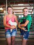 Livestock kids with their kid goats at the 79th Amador County Fair, Plymouth, Calif.<br /> <br /> <br /> #AmadorCountyFair, #PlymouthCalifornia,<br /> #TourAmador, #VisitAmador,