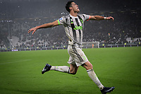Cristiano Ronaldo of Juventus celebrates after scoring the goal of 2-1 on penalty <br /> Torino 30/10/2019 Juventus Stadium <br /> Football Serie A 2019/2020 <br /> Juventus FC - Genoa CFC  <br /> Photo Federico Tardito / Insidefoto