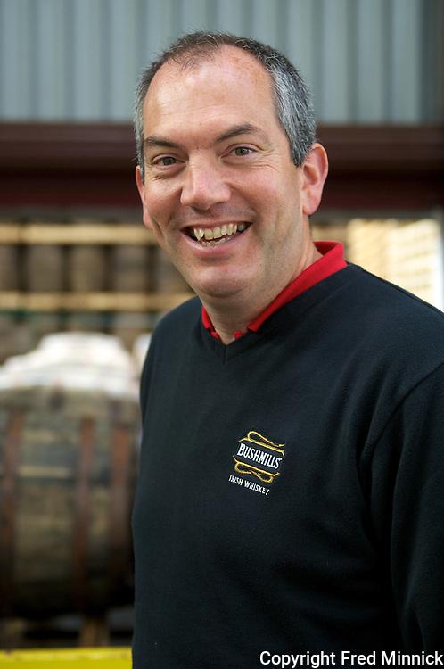Bushmills Master Distiller Colum Egan