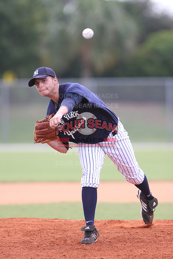Andrew Suarez participates in the World Wood Bat Classic at the Roger Dean Complex in Jupiter, Florida on October 24, 2010.  Photo By Stacy Jo Grant/Four Seam Images