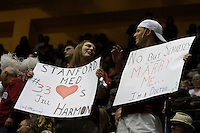 BERKELEY, CA - MARCH 30: Fans cheer on the Cardinal during Stanford's 74-53 win against the Iowa State Cyclones on March 30, 2009 at Haas Pavilion in Berkeley, California.