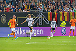 06.09.2019, Volksparkstadion, HAMBURG, GER, EMQ, Deutschland (GER) vs Niederlande (NED)<br /> <br /> DFB REGULATIONS PROHIBIT ANY USE OF PHOTOGRAPHS AS IMAGE SEQUENCES AND/OR QUASI-VIDEO.<br /> <br /> im Bild / picture shows<br /> <br /> <br /> Ryan BABEL (Niederlande / NED #09)<br /> Toni Kroos (Deutschland / GER #08)<br /> <br /> während EM Qualifikations-Spiel Deutschland gegen Niederlande  in Hamburg am 07.09.2019, <br /> <br /> Foto © nordphoto / Kokenge