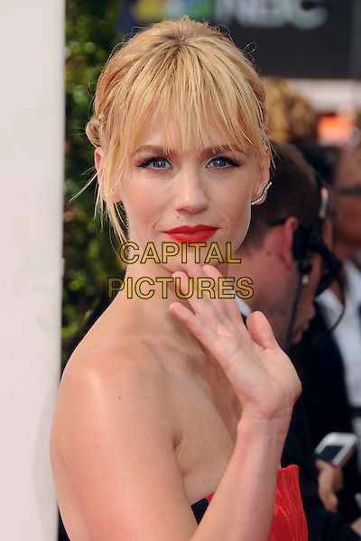 25 August 2014 - Los Angeles, California - January Jones. 66th Annual Primetime Emmy Awards - Arrivals held at Nokia Theatre LA Live. <br /> CAP/ADM/BP<br /> &copy;BP/ADM/Capital Pictures
