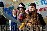 Ciara Nolan, Ellie O'Connor and Kotryna Krupviciute, students from Presentation Secondary School, Tralee who took part in Love Literature Week on Friday last
