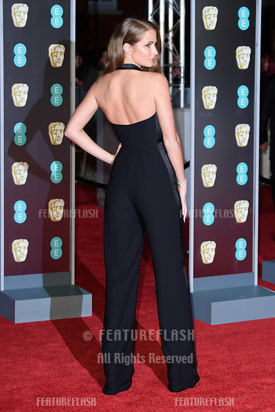 Millie Mackintosh arriving for the BAFTA Film Awards 2018 at the Royal Albert Hall, London, UK. <br /> 18 February  2018<br /> Picture: Steve Vas/Featureflash/SilverHub 0208 004 5359 sales@silverhubmedia.com