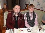 Calum and Ben Halpenny at The Night At The Opera in Linn Duchaill restaurant at The Glyde Inn Annagassan. Photo:Colin Bell/pressphotos.ie