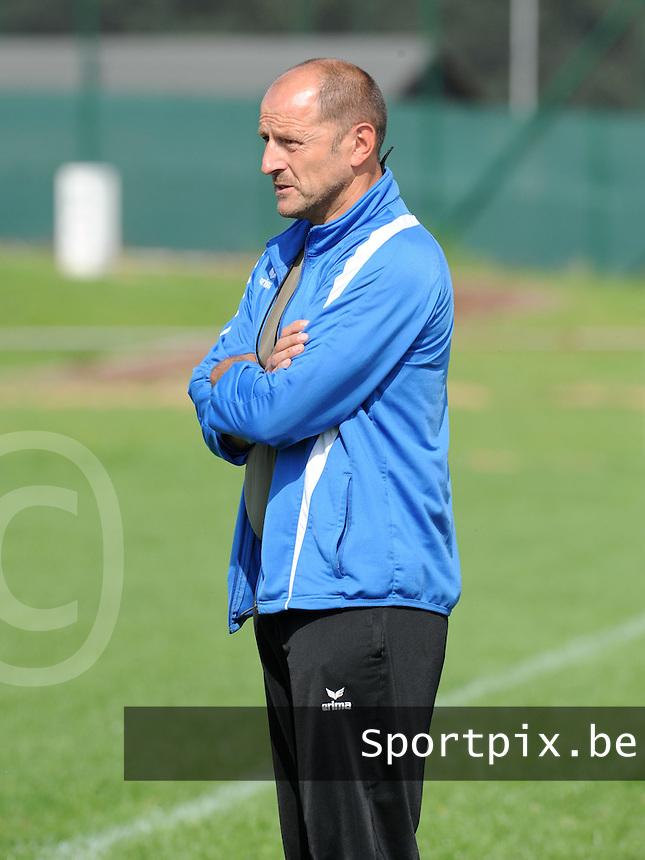 VV Rassing Harelbeke : trainer Geert Vanhevel.foto DAVID CATRY / VDB / BART VANDENBROUCKE