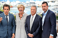 Ben Stiller, Emma Thompson, Dustin Hoffman &amp; Adam Sandler at the photocall for &quot;The Meyerowitz Stories&quot; at the 70th Festival de Cannes, Cannes, France. 21 May 2017<br /> Picture: Paul Smith/Featureflash/SilverHub 0208 004 5359 sales@silverhubmedia.com