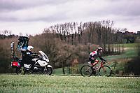 Julie Van de Velde (BEL/Lotto Soudal ladies)<br /> <br /> 12th Women's Omloop Het Nieuwsblad 2020 (BEL)<br /> Women's Elite Race <br /> Gent – Ninove: 123km<br /> <br /> ©kramon