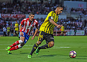 June 4th 2017, Estadi Montilivi,  Girona, Catalonia, Spain; Spanish Segunda División Football, Girona versus Zaragoza; M Silva turns Sanzada of Girona