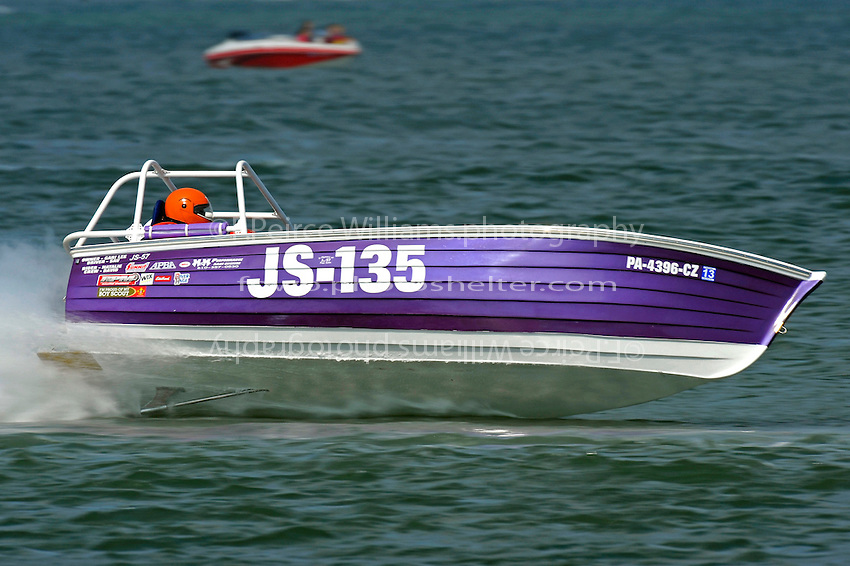 "JS-135 ""Knot Right""  (Jersey Speed Skiff(s)"