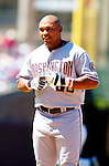 2 July 2005: Marlon Byrd, outfielder for the Washington Nationals, during a game against the Chicago Cubs. The Nationals defeated the Cubs 4-2 in front of 40,488 at Wrigley Field in Chicago, IL. Mandatory Photo Credit: Ed Wolfstein