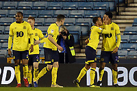 Joe Nuttall of Blackburn Rovers is congratulated after scoring the first goal during Millwall vs Blackburn Rovers, Sky Bet EFL Championship Football at The Den on 12th January 2019