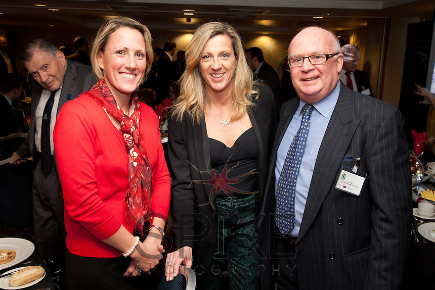 Sally Gunnell meets Donna Bickley Inside Out Group and Ron Glen