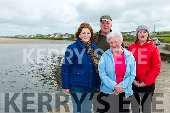 The  launch of the annual Good Friday Walk from Cashen Pier in Ballyduff. in aid of the Kerry Hospice Foundation at 5pm Pictured Kay Enright, Kathleen Caine, Patrick Caine and  Helen Sheehan