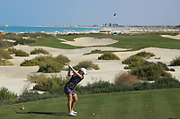 Caisa Persson (SWE) during the final round of the Fatima Bint Mubarak Ladies Open played at Saadiyat Beach Golf Club, Abu Dhabi, UAE. 12/01/2019<br /> Picture: Golffile | Phil Inglis<br /> <br /> All photo usage must carry mandatory copyright credit (&copy; Golffile | Phil Inglis)