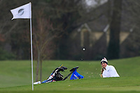 Izabella Grimbrandt (Sweden) during the second round of the Irish Girls' Open Stroke Play Championship, Roganstown Golf Club, Swords, Ireland. 14/04/2018.<br /> Picture: Golffile | Fran Caffrey<br /> <br /> <br /> All photo usage must carry mandatory copyright credit (&copy; Golffile | Fran Caffrey)