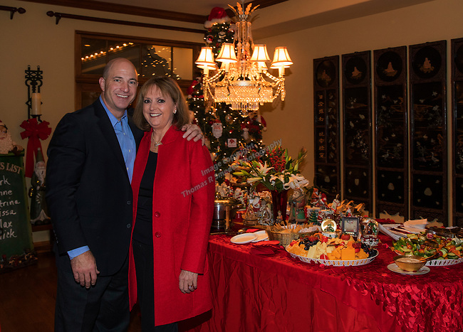 Lynne and Mark Simons hosted the Northern Nevada Women's Lawyer Association holiday benefit and party in Reno, Wednesday, Dec. 13, 2017.