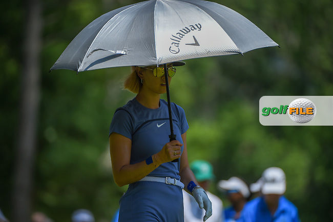 Michelle Wie (USA) heads down 1 during round 3 of the U.S. Women's Open Championship, Shoal Creek Country Club, at Birmingham, Alabama, USA. 6/2/2018.<br /> Picture: Golffile | Ken Murray<br /> <br /> All photo usage must carry mandatory copyright credit (© Golffile | Ken Murray)