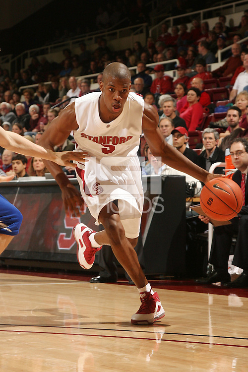 Stanford, CA - NOVEMBER 26:  Guard Jeremy Green #5 of the Stanford Cardinal during Stanford's 76-57 win against the Air Force Academy Falcons on November 26, 2008 at Maples Pavilion in Stanford, California.