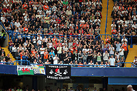 Pictured: Swansea supporters. Saturday 17 September 2011<br />
