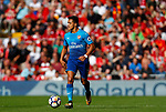 Arsenal's Alexis Sanchez in action during the premier league match at Anfield Stadium, Liverpool. Picture date 27th August 2017. Picture credit should read: Paul Thomas/Sportimage